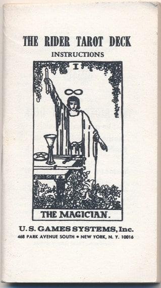 Tarot Booklet