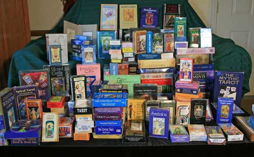 Collection of Tarot Decks